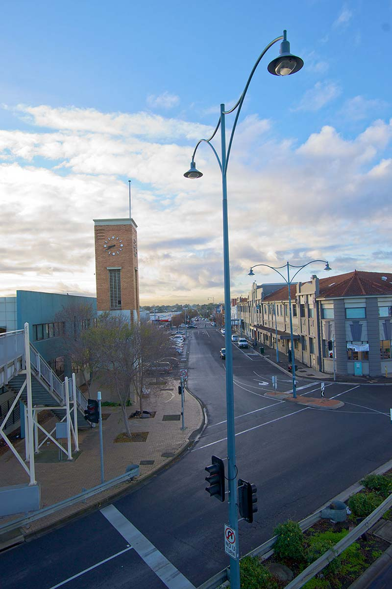 View of a country town street. - click to view larger image