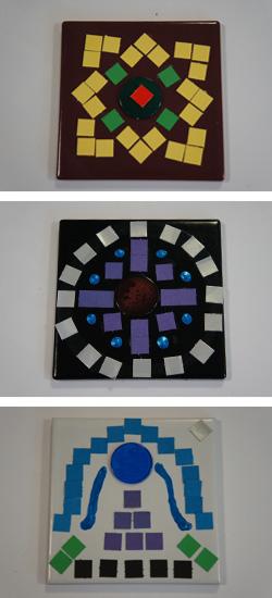 Arabic-style tiles (Baghdad)