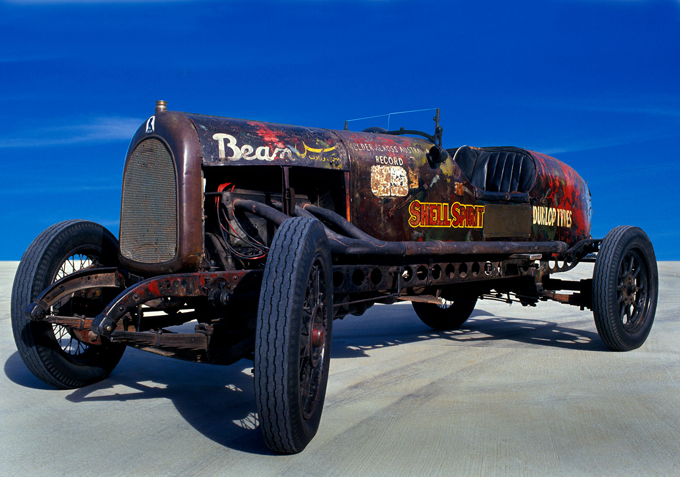 Francis Birtles' Bean 14 car, which he named 'The Sundowner'. - click to view larger image