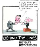 Behind the Lines logo 2004