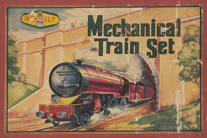 Box cover of Robilt Products South Australian Railways '52 series' train set