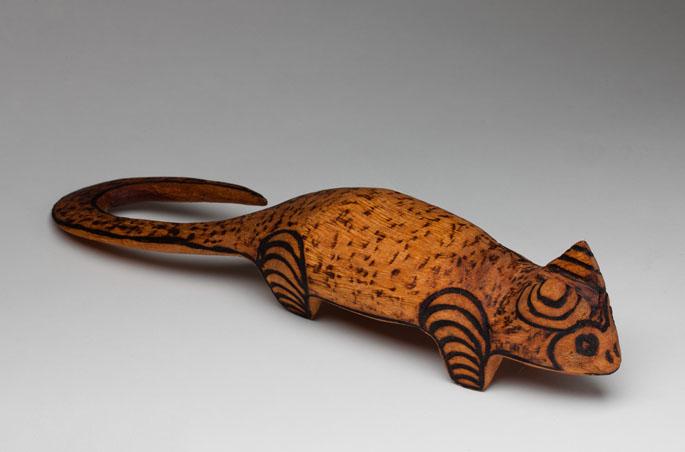 Unique Purnu (wood) sculptures | National Museum of Australia IW25
