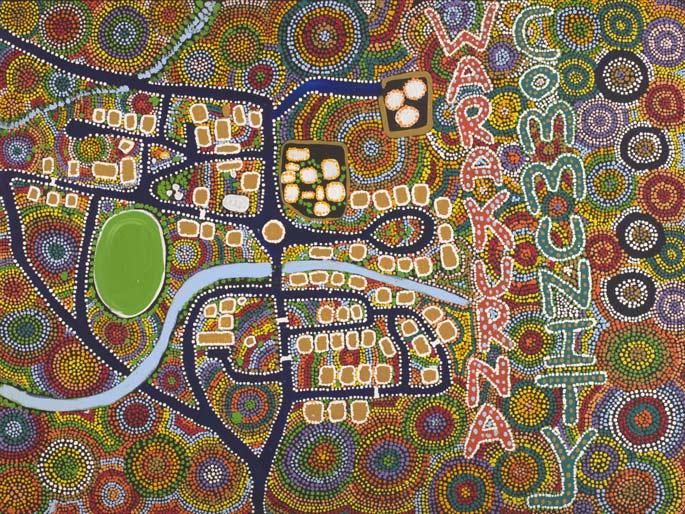 Warakurna Community (2011) by Tracy Yates
