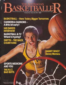 Cover of The Australian Basketballer magazine