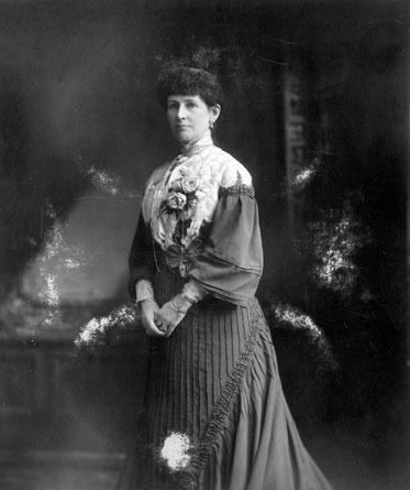 Photograph portrait of Lady Janet Clarke