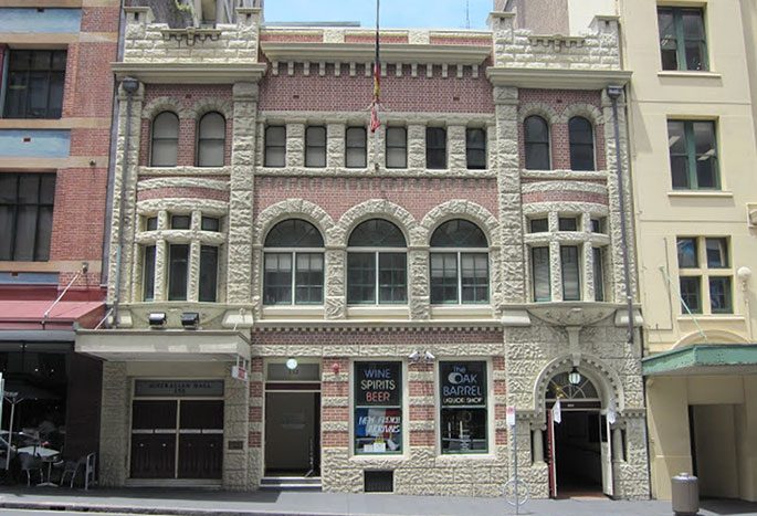 The Australian Hall in central Sydney.