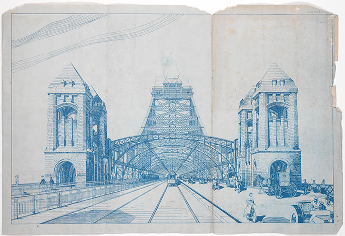 Planning and design national museum of australia a blueprint for one of norman selfes bridge designs selfe submitted entries in three design competitions run by the new south wales government between malvernweather Choice Image
