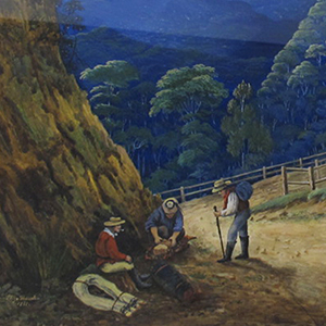 1813: Blaxland, Lawson and Wentworth cross the Blue Mountains
