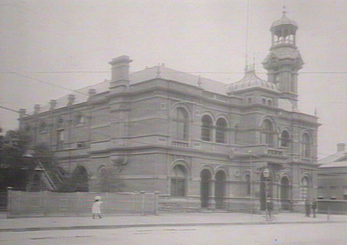 Broken Hill Town Hall, 1906