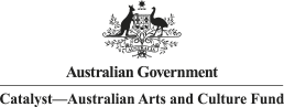 Australian Government - Catalyst - Australian Arts and Culture Fund logo