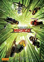 Promotional poster for Lego Ninjago