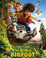 Poster for movie, 'Son of Bigfoot'