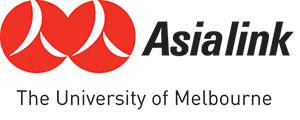 Logo for Asialink.