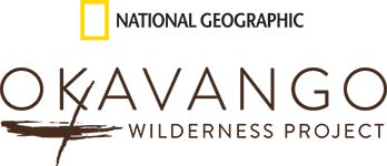 Logos: National Geographic. Okavango Wilderness Project.