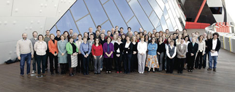 Photo of conference delegates