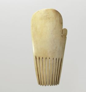 Comb made out of bone.