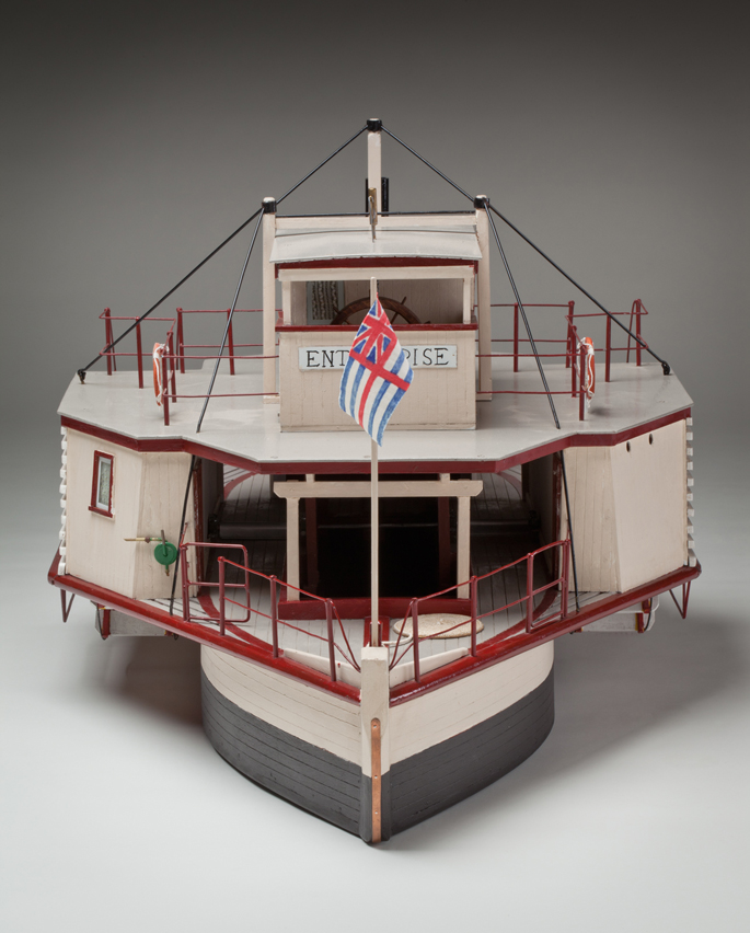 Paddlesteamer model