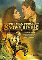 Film poster for 'The Man from Snowy River'