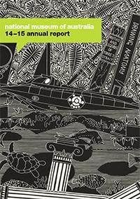 Annual Report 2014-2015 cover.