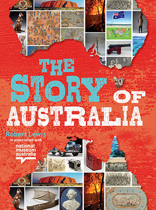 Book cover for The Story of Australia