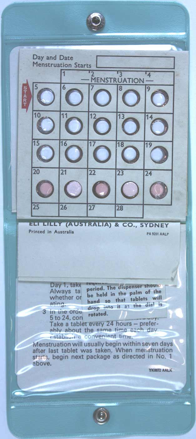 Contraceptive pill kit - click to view larger image
