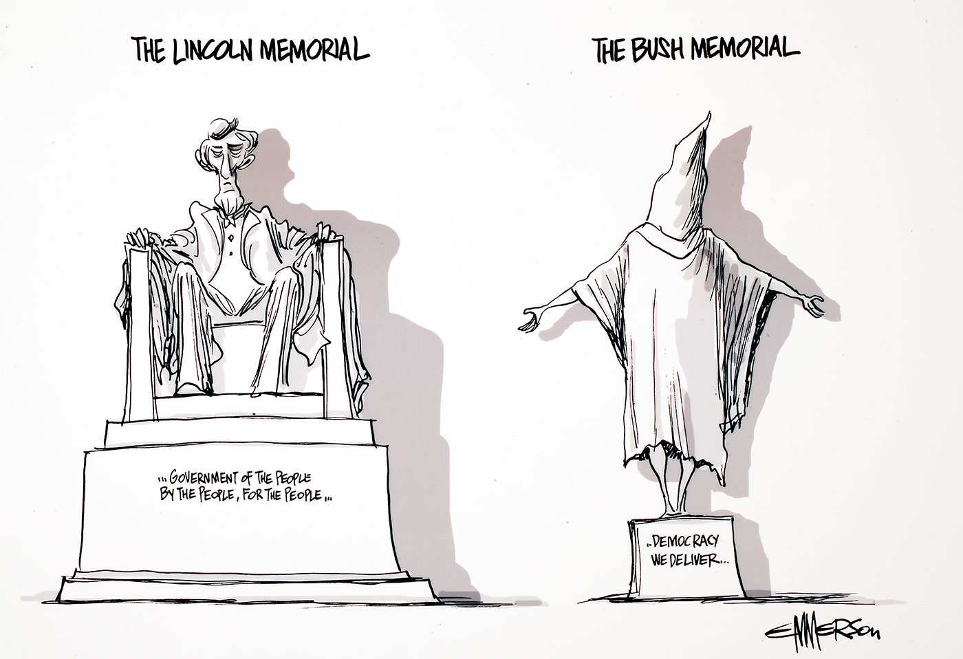 Political cartoon. - click to view larger image