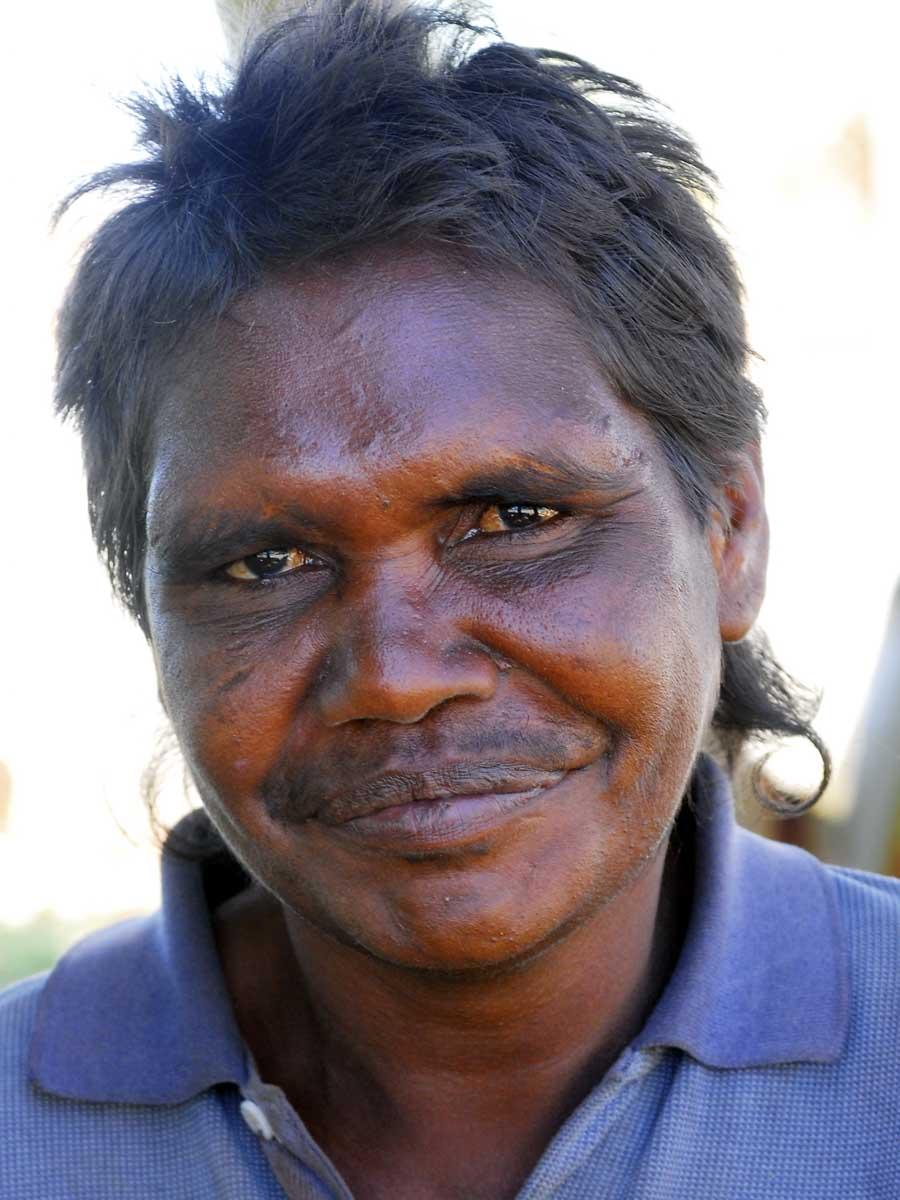Portrait of Dadina Georgina Brown. - click to view larger image
