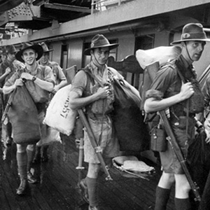 1942: Japanese Imperial Army invades Singapore
