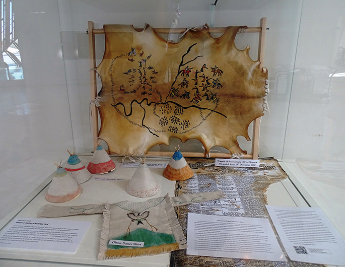 A museum display.