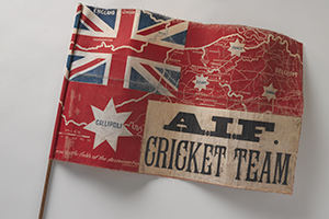 Australian Imperial Forces cricket team flag