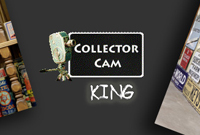 Collector Cam King exhibition