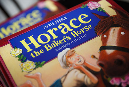 Cover of the book 'Horace the Baker's Horse'