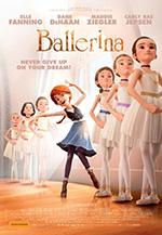 Ballerina film promotional poster