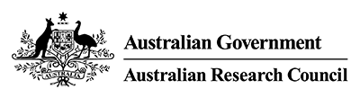 Australian Research Council logo.