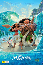 Moana film promotional poster
