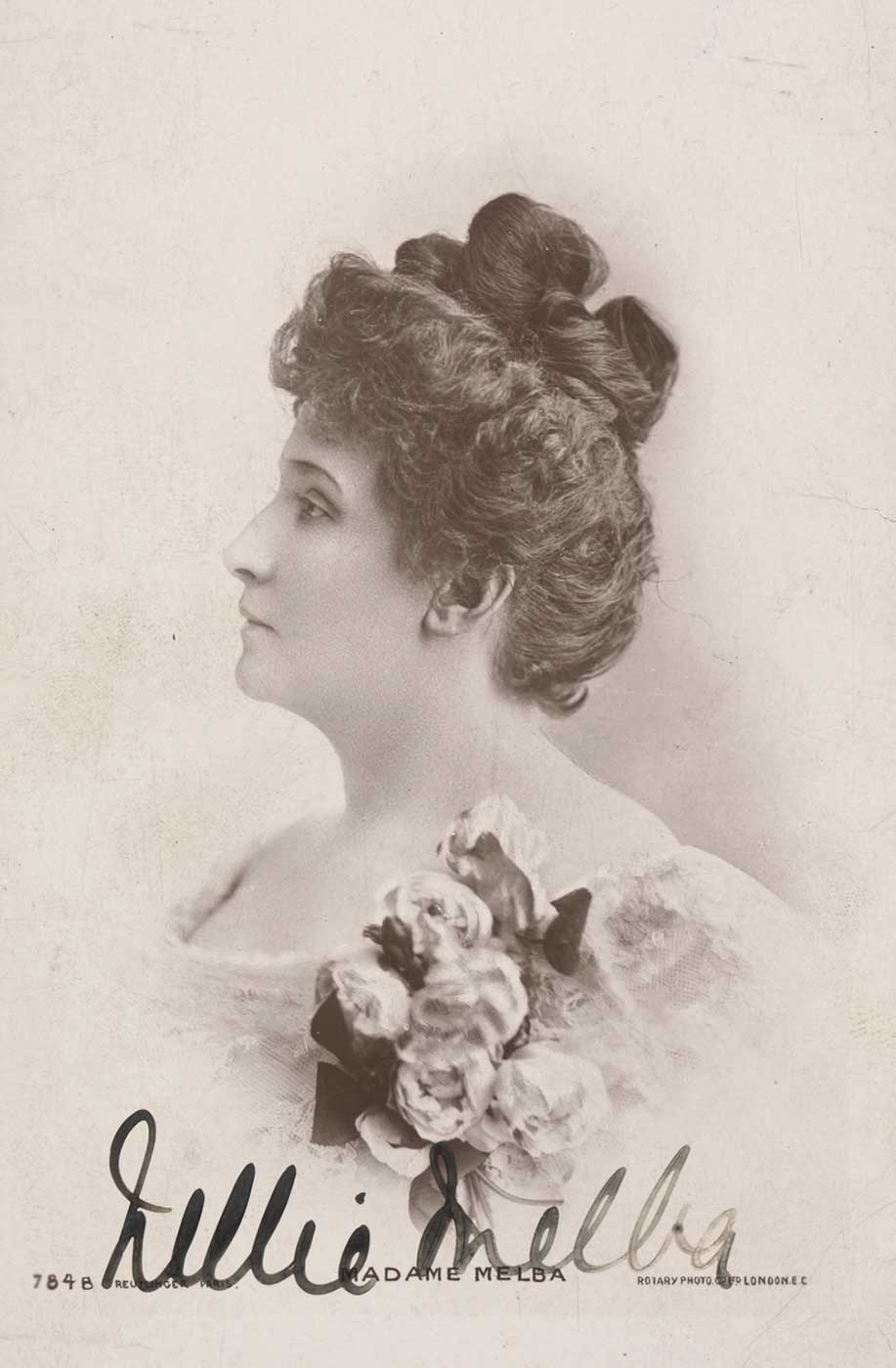 Portrait of Nellie Melba