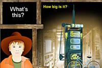 A screenshot image of the Golden Fleece interactive.