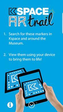 Kspace AR trail image