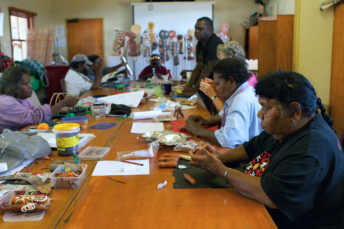 Girringun Aboriginal Art Centre. - click to view larger image