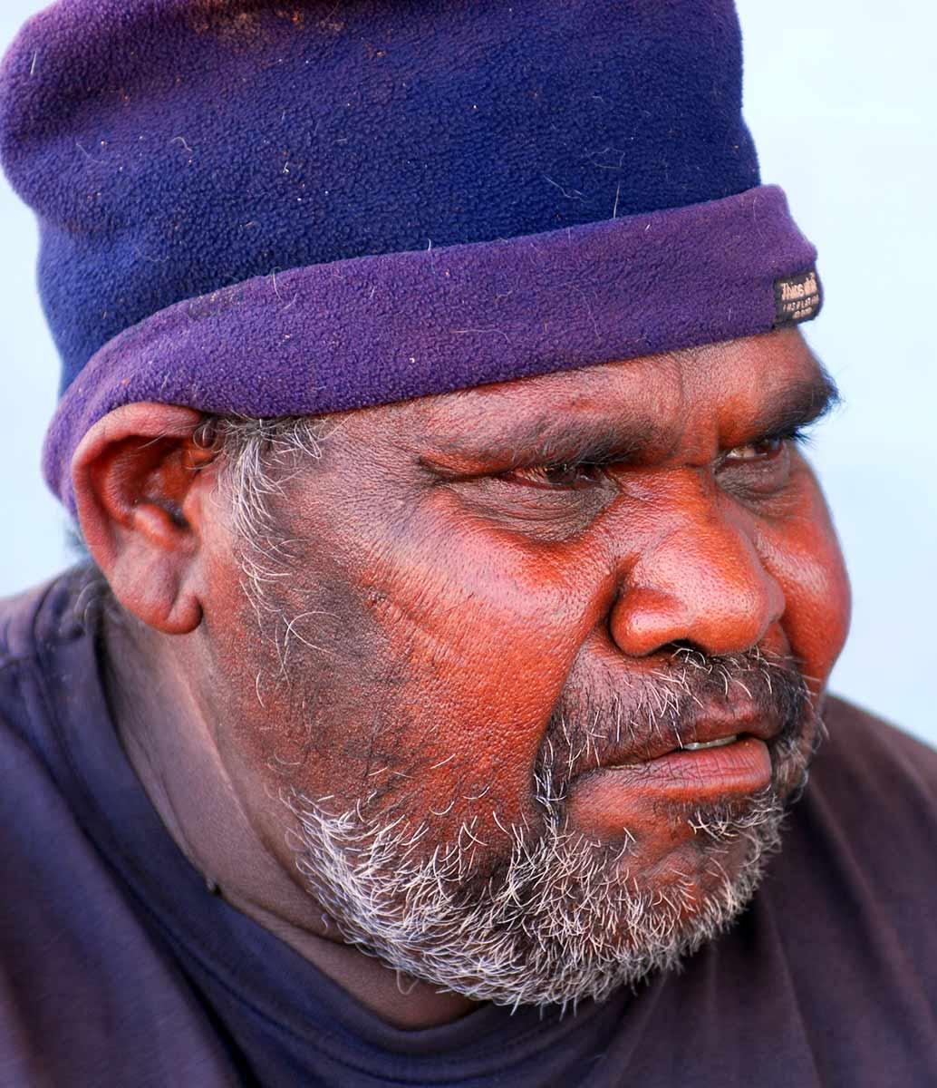Portrait of Yurnangurnu Nola Campbell. - click to view larger image