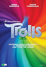 Trolls film promotional poster