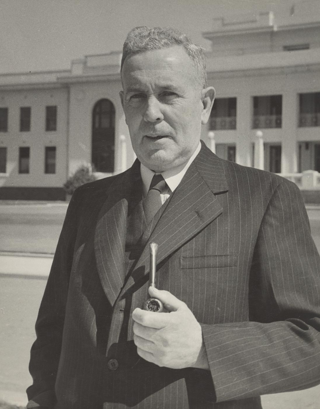 Portrait of Ben Chifley. - click to view larger image