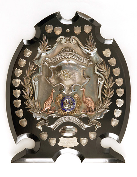 Royal Agricultural Society Challenge Shield, 1908-13.