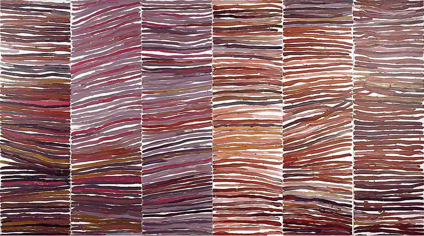 Australian Aboriginal painting.