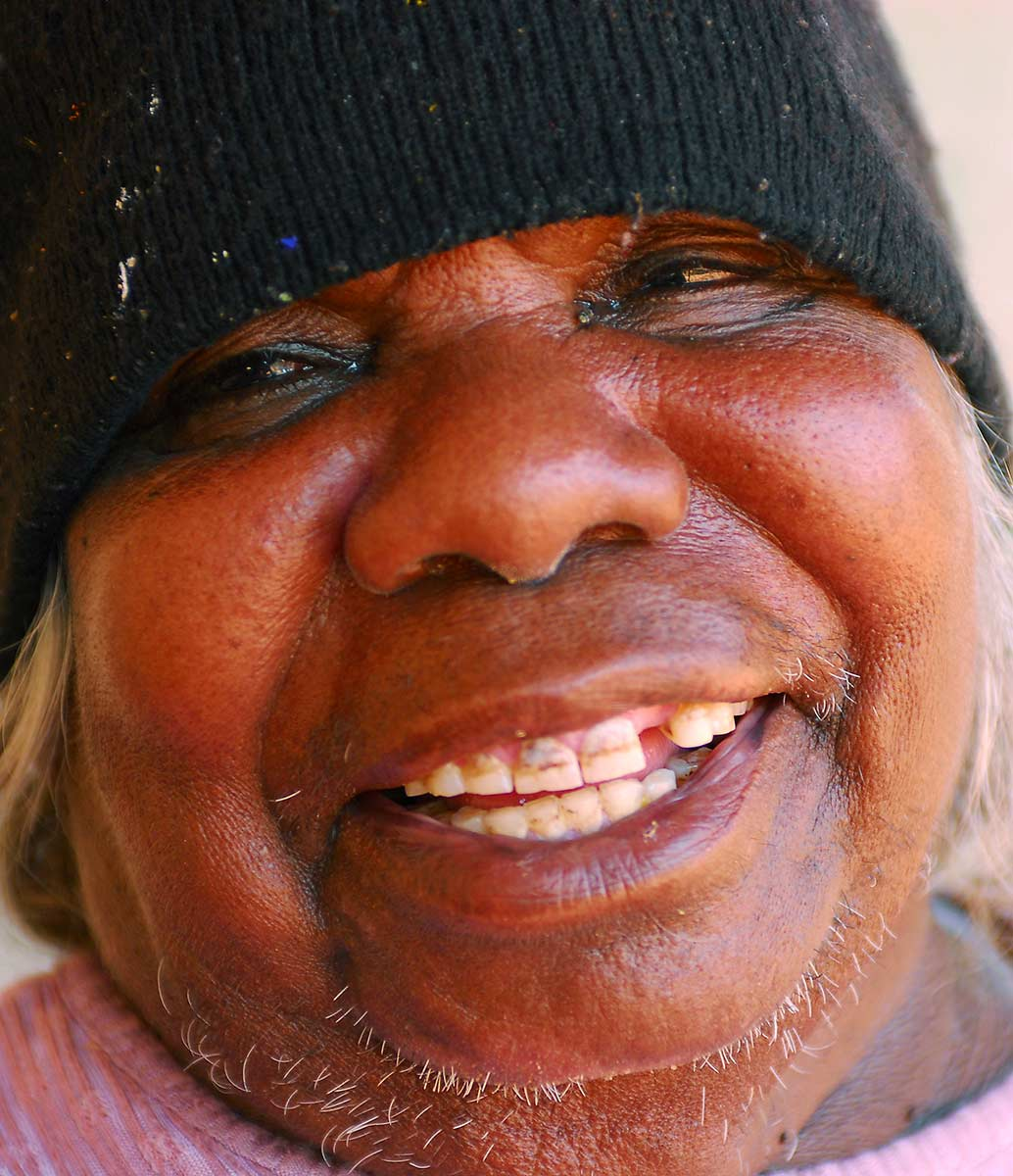 Portrait of Ngarnjapayi Nancy Chapman. - click to view larger image