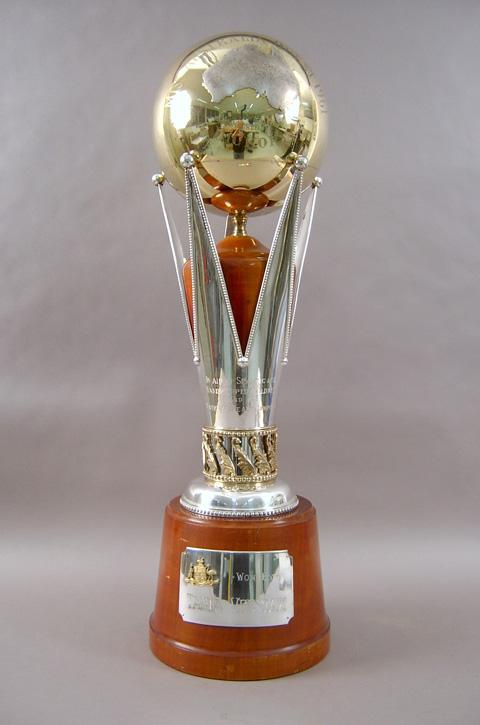 Tania Verstak's Miss Australia 1961 trophy