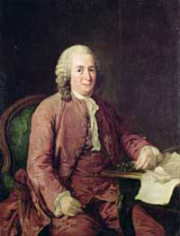 Portrait of Carl Linnaeus by Alexander Roslin