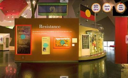 Resistance exhibition module