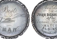 David Allen agricultural medals