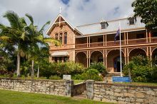 Exterior photoraph of the James Cook Museum